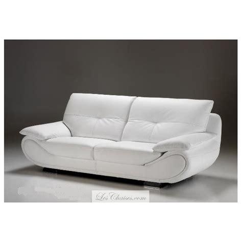 canapé simili cuir blanc canapé contemporain cuir design rennes et canapés sofa