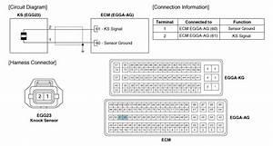 Hyundai Accent  Knock Sensor  Ks   Schematic Diagrams