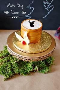 CAKE HAPPENS: Christmas White Aspen Cake & Wood Grain Stag ...  Cake