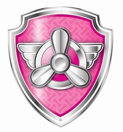 Paw Patrol Escudos Canina Patrulla Logos Skye