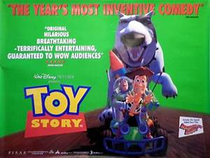 Toy Story Poster, UK Quad, 1995