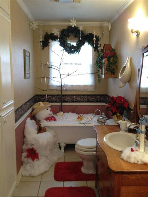 jingle bell bathroom images  pinterest