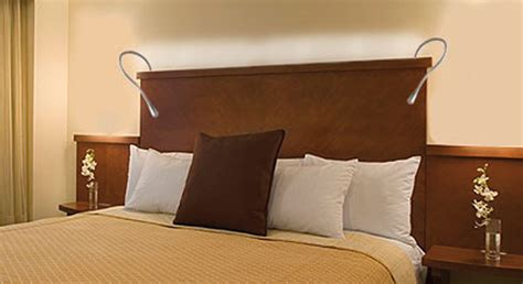headboard lights for reading hospitality