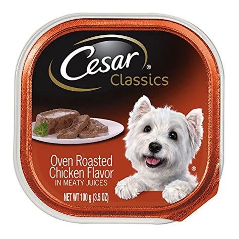 cesar classics oven roasted chicken flavor  meaty juices