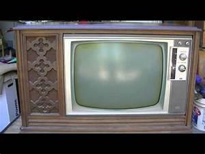 Rca Victor Ctc28 Color Tube Television Repair Restore