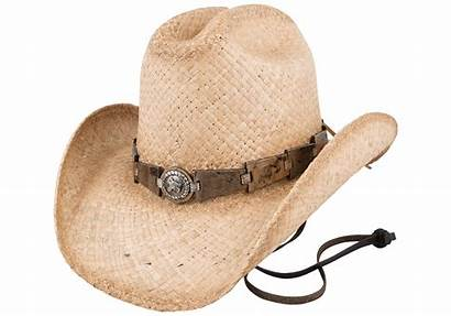 Straw Hat Horse Play Natural Bullhide