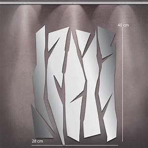 Miroirs Design Contemporain : miroir design deco lames mi0027 tableaux d co personnalis s contemporain toiles photo agoarts ~ Teatrodelosmanantiales.com Idées de Décoration