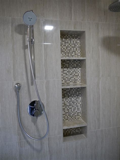 designs for small bathrooms shower tub niches