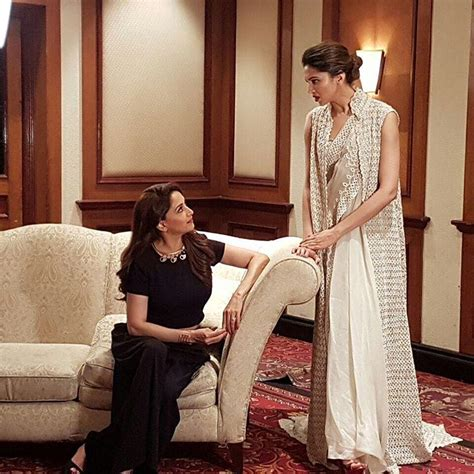actress deepika padukone instagram this candid picture of madhuri and deepika is beauty