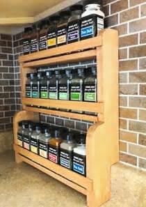 kitchen spice storage ideas wall spice rack diy sick09fwy