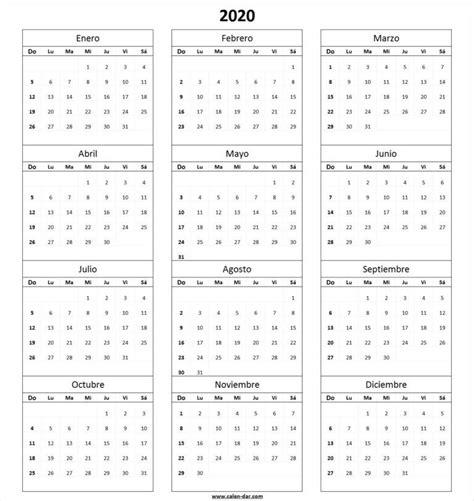 calendario en blanco  imprimir  nosoviacom