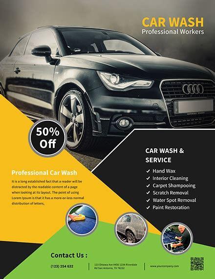 Free car wash flyer templates. 22 + Car Wash Flyer Examples, Templates & Design Ideas ...