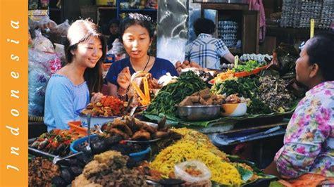 sweet indonesian street food market  pasar gede