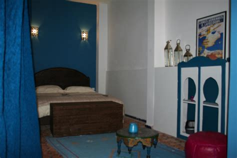la chambre bleue riad meknes chambres d 39 hôtes maroc riad el ma la