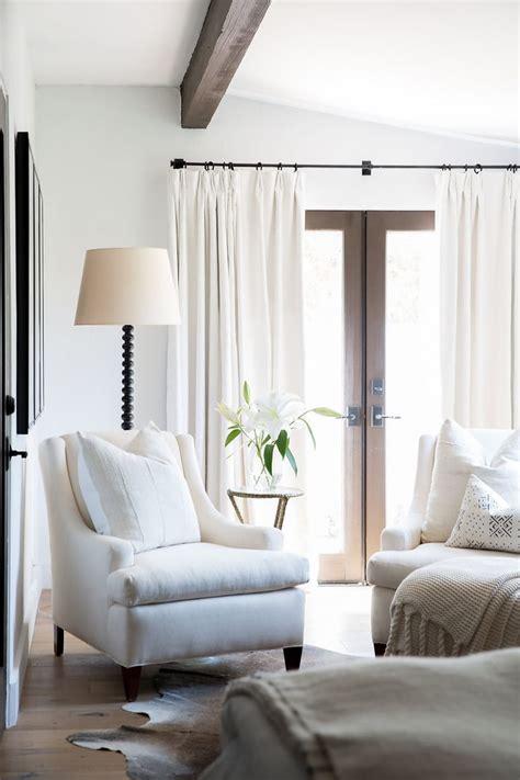 white linen curtains ideas  pinterest white