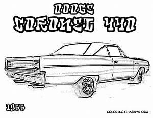 free dodge viper cars coloring pages With 1966 dodge dart gts