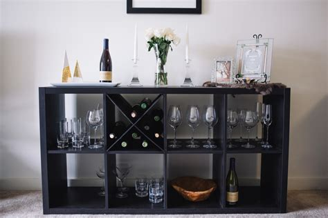 diy wine rack   shelf ikea hack