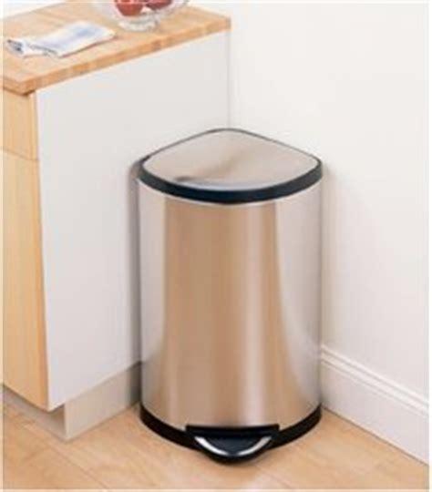 poubelle d angle cuisine poubelle inox d 39 angle le choix design et pratique
