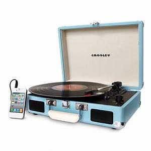 Buy Crosley Cruiser Deluxe Turntable Turquoise Rockit