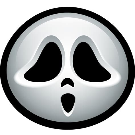 ghost face clipart    clipartmag