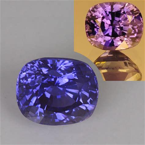 color changing gemstones 3 36 carat color change sapphire gemstone dyer