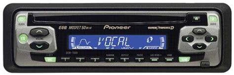 pioneer car cd player deh 1500 mosfet 50wx4 tuner 3 am fm radio