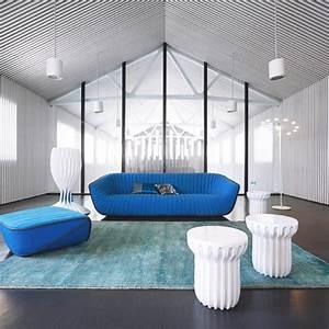 collection roche bobois 30 meubles et accessoires coup With tapis de marche avec canape roche