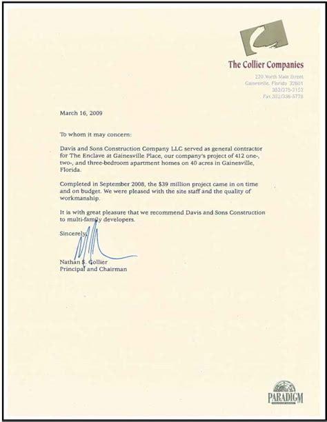 housekeeper recommendation letter cover letter samples cover letter samples