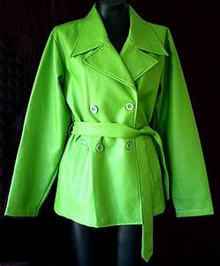 Lime Green Jacket Coat Nj