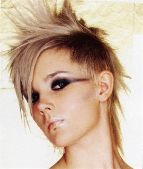 short punk hairstyles 2012 punk rock haircuts for women