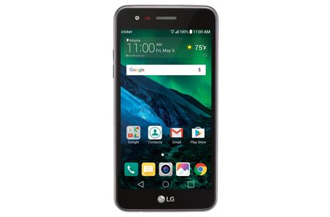 LG Fortune Smartphone for Cricket in Black | LG USA