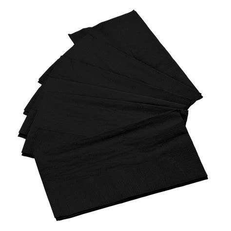 Schwarze Servietten by Black Paper Dinner Napkin Choice 2 Ply 15 Quot X 17 Quot 125 Pack