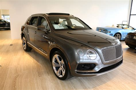 2017 bentley bentayga msrp 2017 bentley bentayga w12 signature stock 7nc015824 for