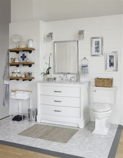 white rustic bathroom a modern rustic bathroom reveal city farmhouse