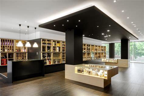 wine store design  portugal stylishly exhibiting