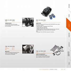 Ktm Powerparts Street Catalog 2016 Usa By Ktm Group