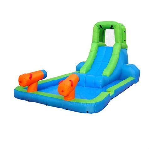 piscine gonflable avec siege happyhop toboggan gonflable avec piscine canons achat