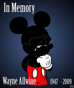 In Memory - Wayne Allwine by ColorfulArtist86 on DeviantArt
