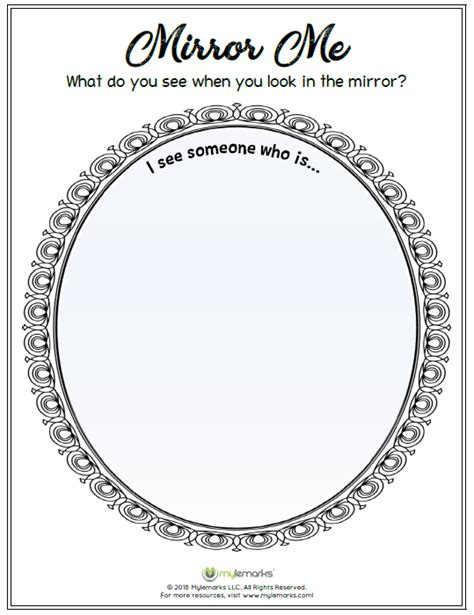 mirror   esteem  confidence resources  kids