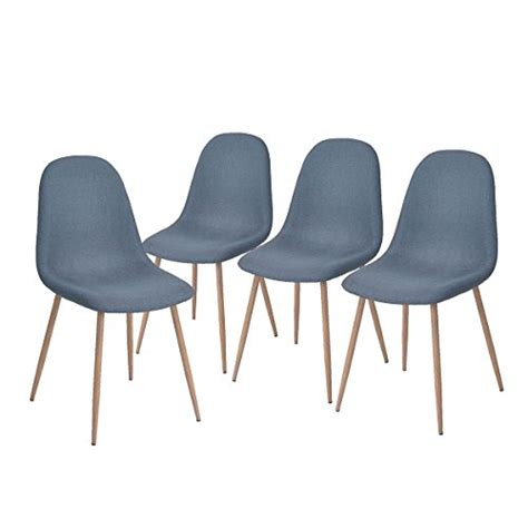 greenforest dining side chairs strong metal legs fabric