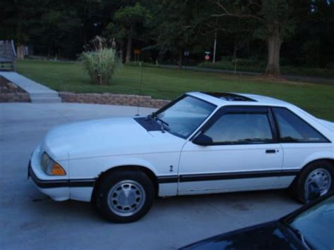 Buy Used 1989 Ford Mustang Lx Hatchback 2-door 5.0l Fox