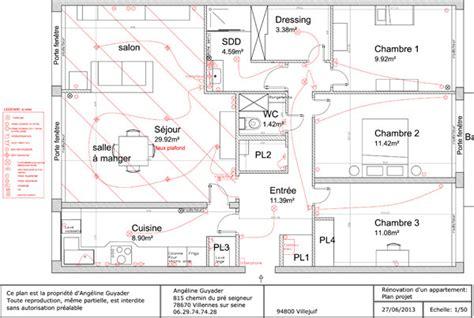 plan electrique cuisine architecture et décoration d intérieur