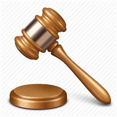 Court Guilty Former Gavel Icon Courts Crime