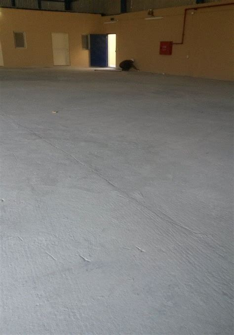 High Performance Polyurea Garage Floor Coating