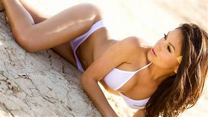 Astrea Leon Wallpapers Resolution Zoomgirls Bikini Models
