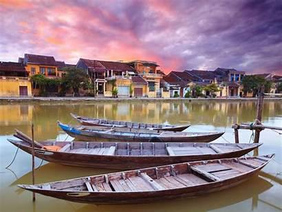 Vietnam Hội Background Village Wallpapers