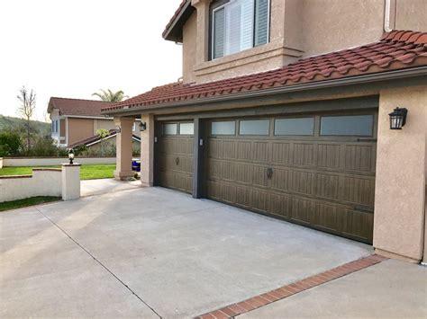Dalton Garage Door by Wayne Dalton Mission Oak Doors Really Pop On This Home Yelp