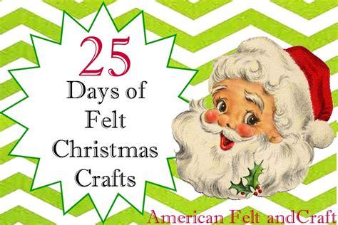 25 days of felt christmas crafts day 9 christmas finger