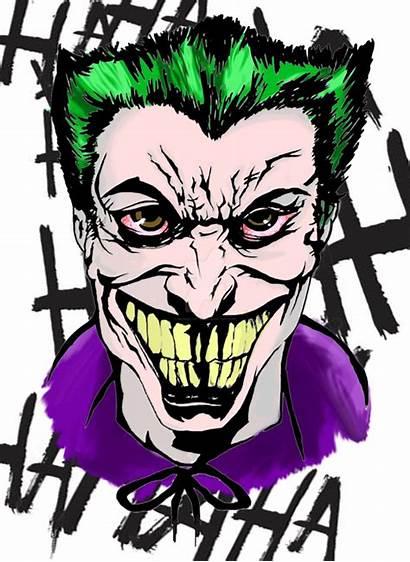 Joker Drawing Clipart Batman Clipartmag Clipground