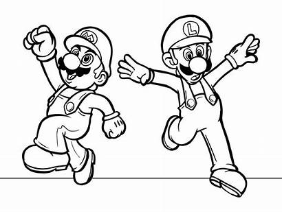Coloring Pages Mario Super Cool Sheets Printable